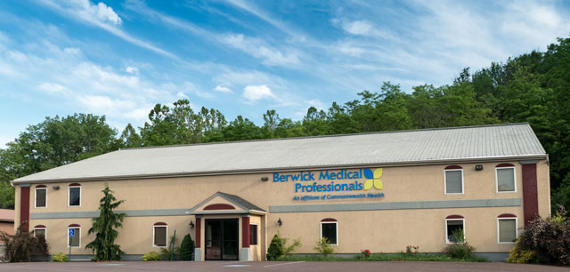 Mountain View Orthopaedics' Bloomsburg office in Columbia County